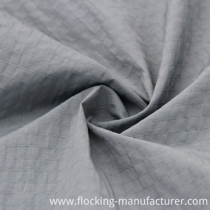 Ripstop Nylon Polyester Fabric for Spring Jacket
