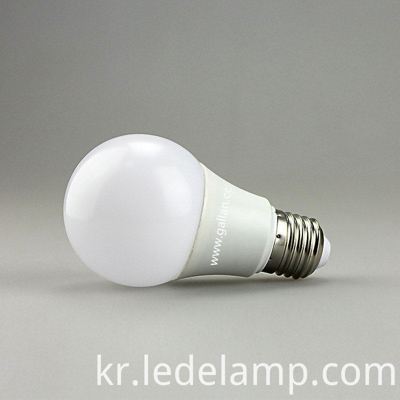 New Design Aluminum 5W/7W/9W/12W E27 LED Light Bulb (GHD-B1242-X20)