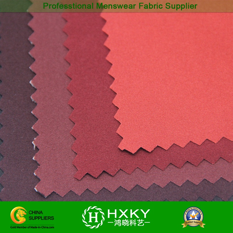 High Spandex 50d Polyester Pongee Fabric with TPU Coating