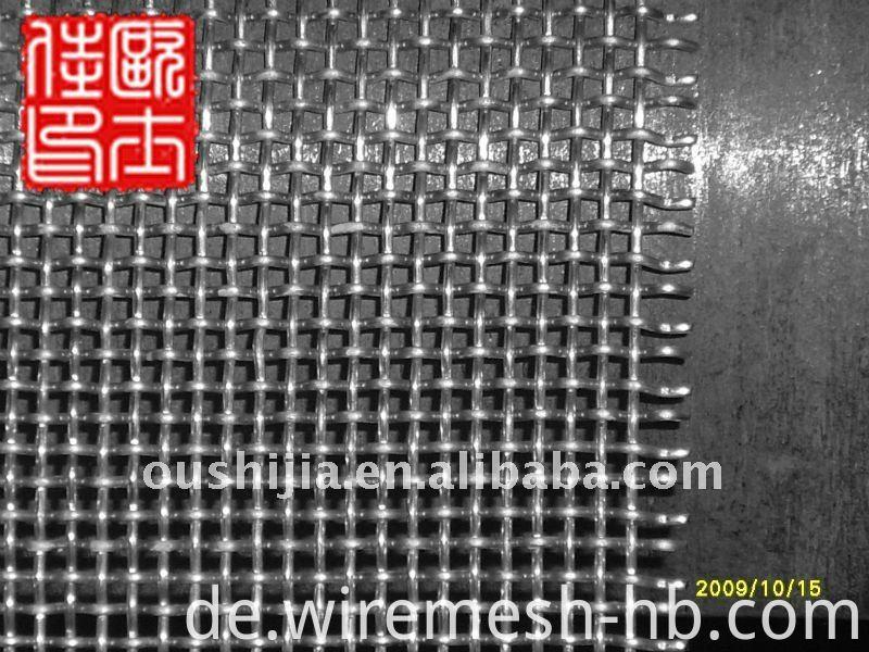 8mm Öffnung Crimp Draht Mesh & Filter Drahtgeflecht