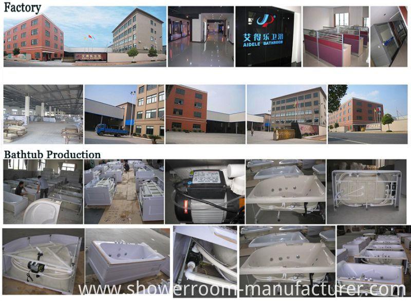 CE ISO9001 Acrylic Freestanding Bathtub (CL-334)
