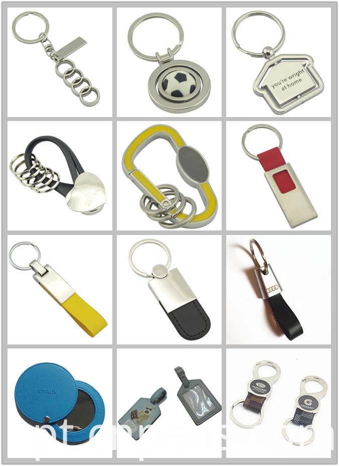 Hot Slae Promotion Key Chain with PU Leather (F3003B)