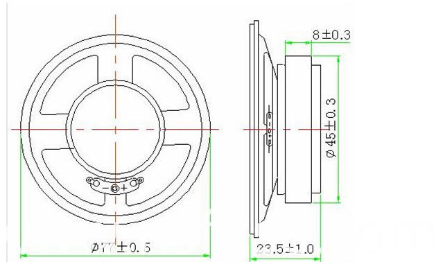 Fbs7723 2015 Hot Sell 70mm Circle Speaker Portable Speaker (FBELE)