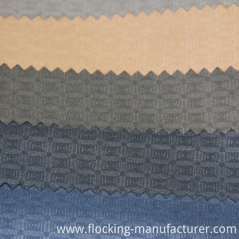 Polyester Embossed Fabric for Men's Outwear