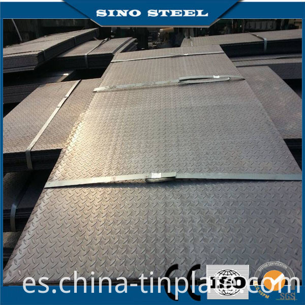 ASTM A36, Q235, S235jr, Coated Plain Carbon Hot Rolled Steel Plate