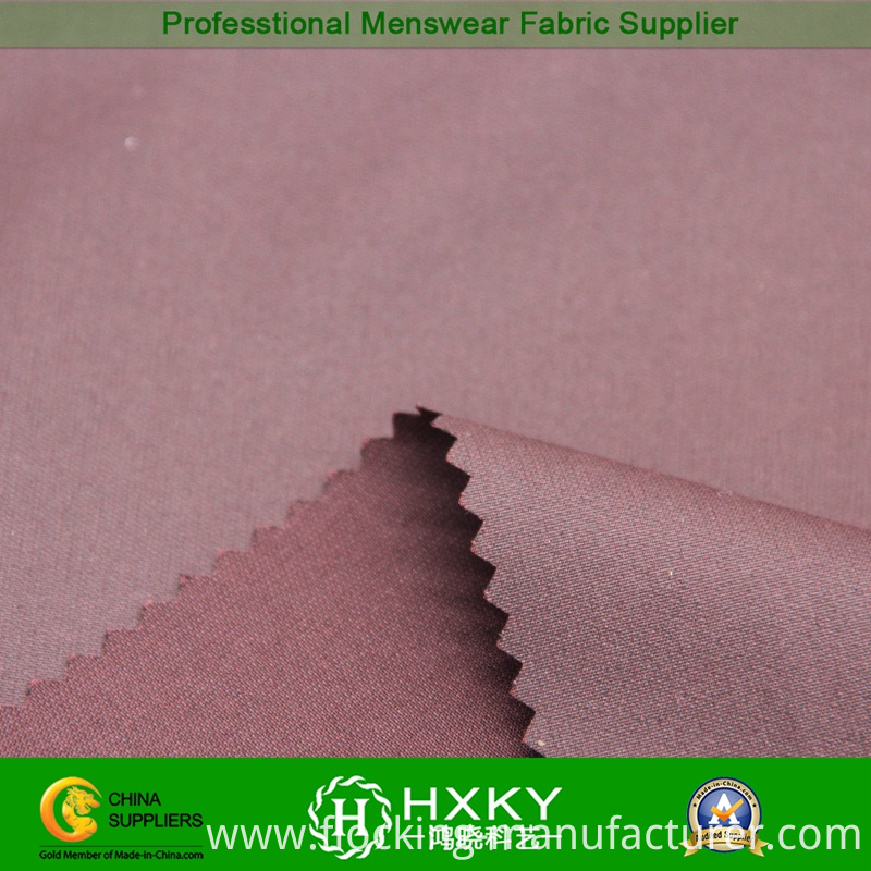 100% Poly Fabric with Cation Yarns for Casual Jacket