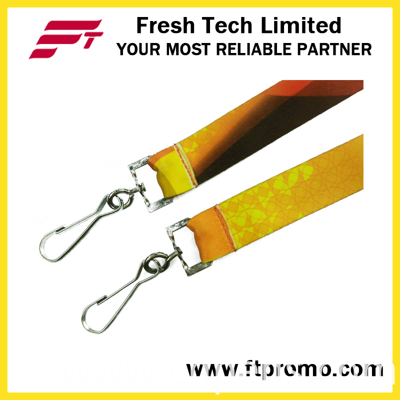 Cheap Heat-Transfer Printing Card Holder Lanyard