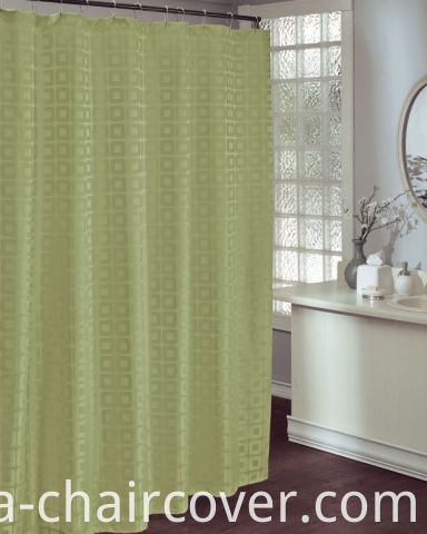 Coffee Color Bathroom Curtain St1503