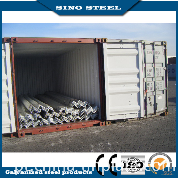 Q235B Q345 6m/9m/12m Ms Equal/ Unequal Hot Rolled Angle Steel