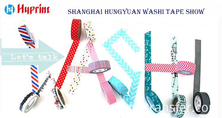 high quality colorful decorative washi