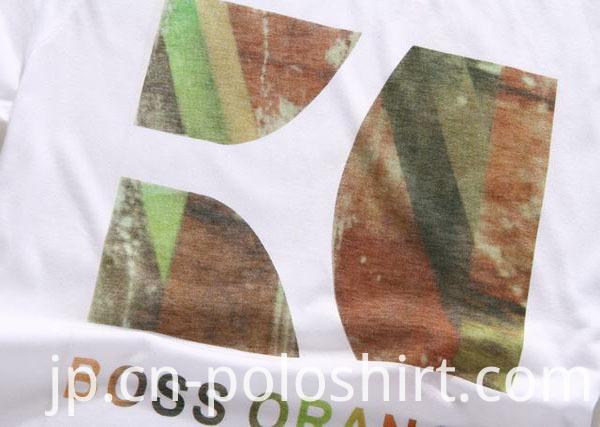 Fashion Design Girls Slim Fit Printed T Shirt