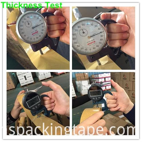 Brown Acrylic Carton Sealing Adhesive Tape (KD-0018)