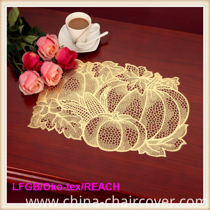 PVC Pressed and Cutout Placemat (JFCD-010)