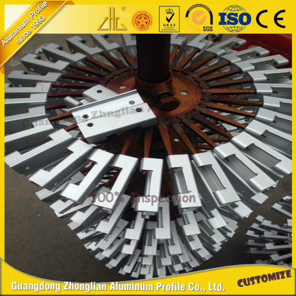 ISO 9001 Anodized Aluminum Profile for CNC Processing