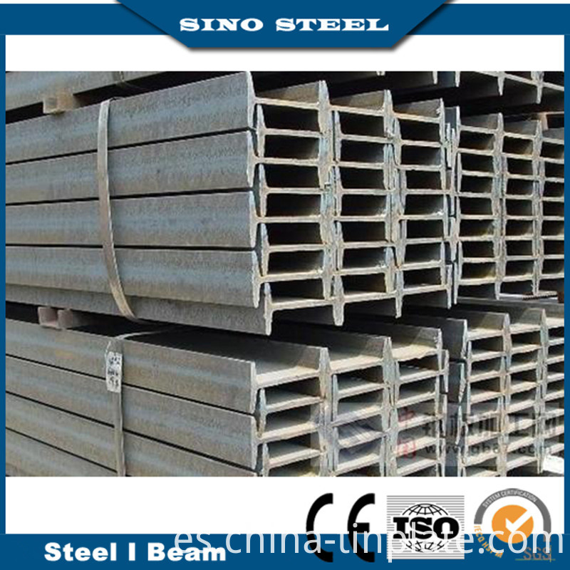 Hot Rolled Q235/Q345 I/H Beam Steel Building