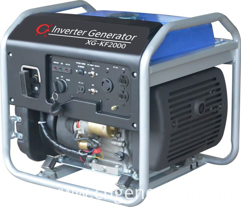 2kw 2000W 4-Stroke Ce and EPA Approved Gasoline Portable Inverter Generator