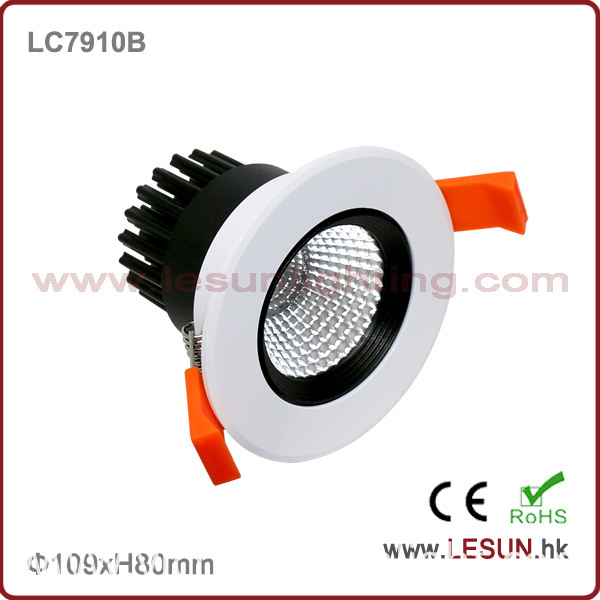 High Quality 10W Recessed COB Ceiling Downlights LC7910b
