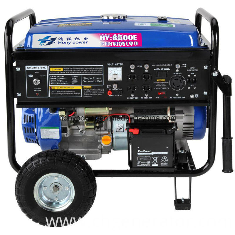 2kw Ohv for Honda 230V 60Hz 0.8kw Digital Gasoline Generator
