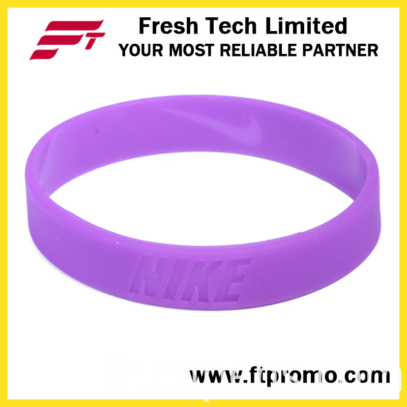 OEM Company Gift Silicone Wristband with Logo