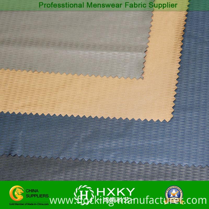 Rhombus Type with Gradient Embossed Polyester Taffeta Fabric
