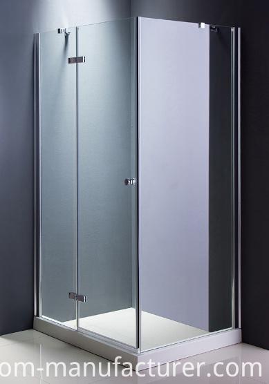 Popular Size 90*90cm Shower Screen Adl- (8A56)
