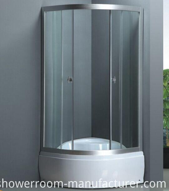 High Base Simple Shower Cabin (ADL-8014A)