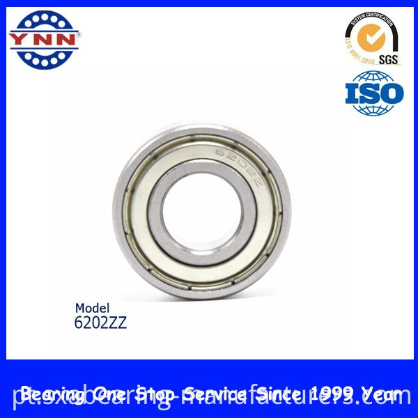 High Speed Bearing Chrome Steel Bearing (6202)