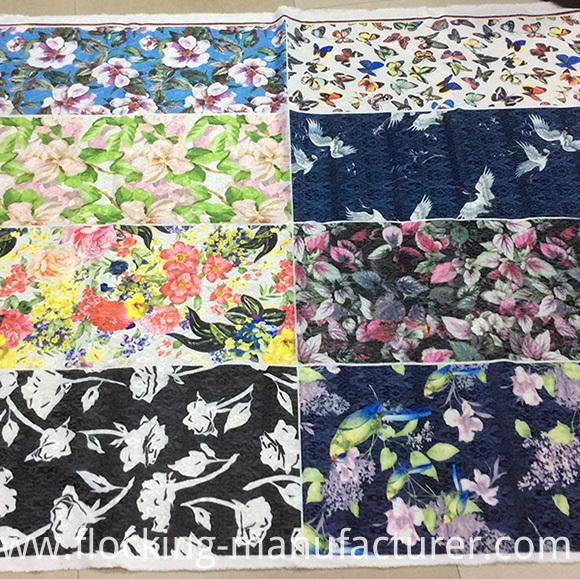 Printed Stretchable Jacquard Garment, Cushion Fabric