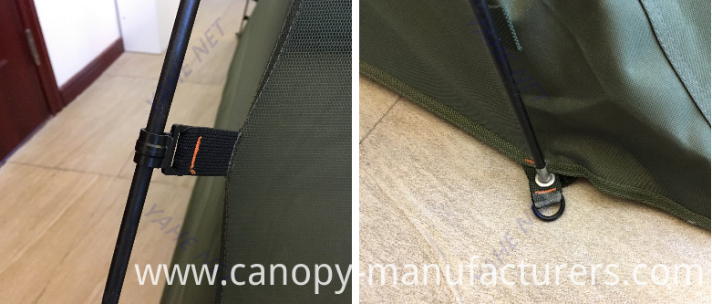 High-Quality Military Bracket Zipper Mosquito Net