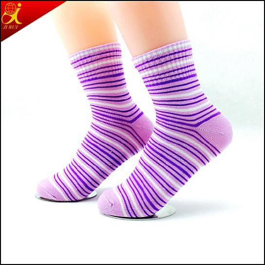 Hotsale Transparent Young Girl's Tube Socks