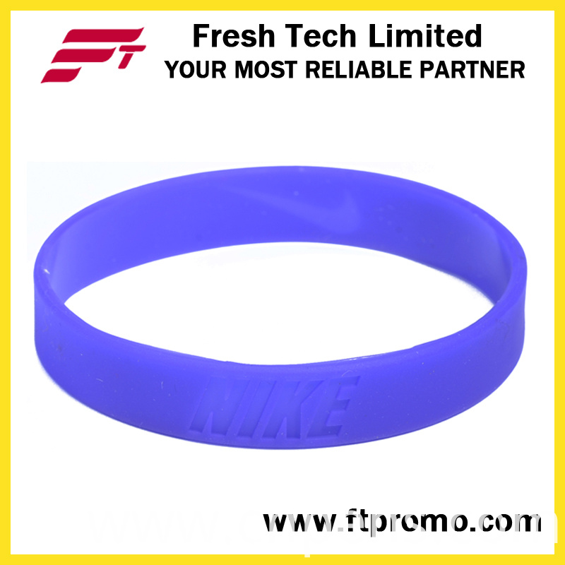 Fashion Custom Sports Silicone Wristband with Your Logo