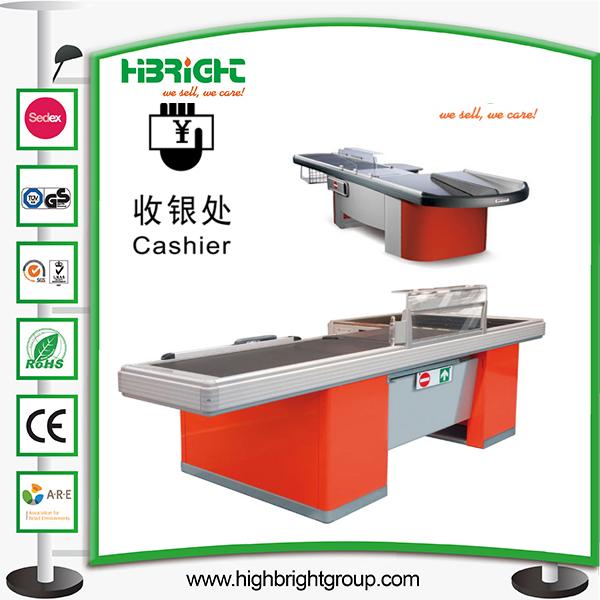 Supermarket Checkout Cashier Counter Table Money Desk
