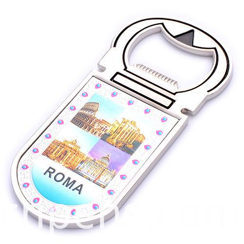 Promotional Gift Souvenir Photo Printing Logo Keychain Bottle Opener (F5038)