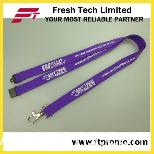 High Quality Chinese Polyester Lanyard with Logo