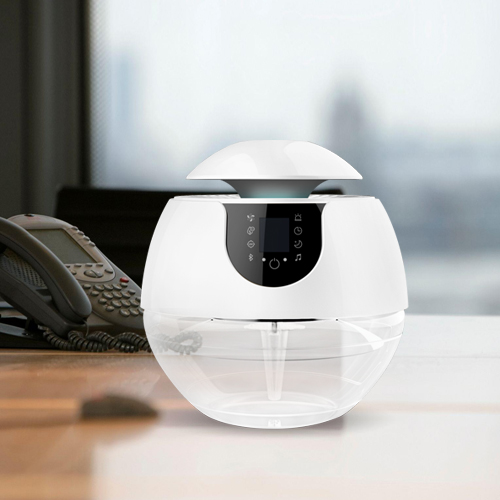 Funglan Home Air Purifier with Bluetooth Water Freshener