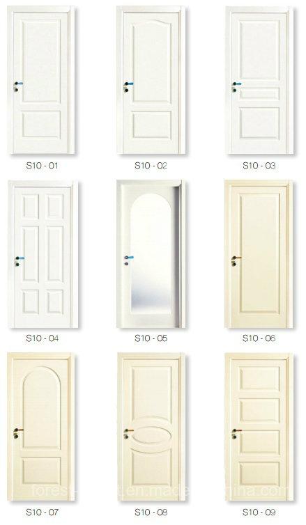 Fancy Interior Wood Carving Door Design by CNC Machine