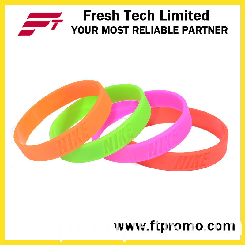 Wholesale OEM Company Gifts Silicone Wristband