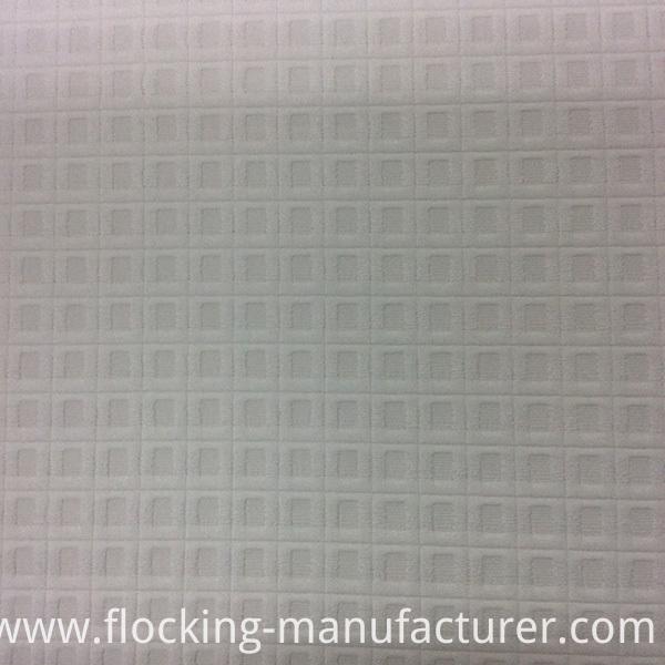 Check Design Polyester Jacquard Garment Fabric