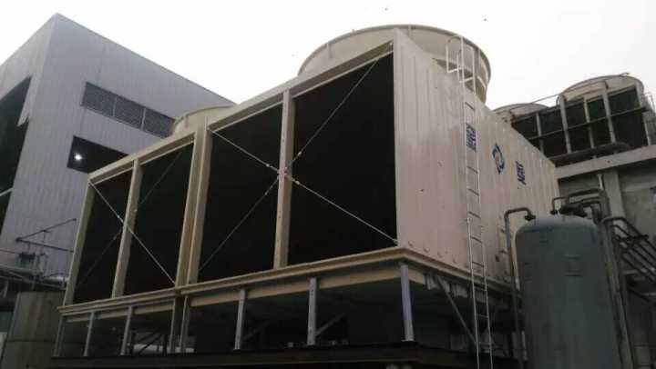 Double Cells Jn Series Cross Flow Square Water Cooling Tower with High Performance