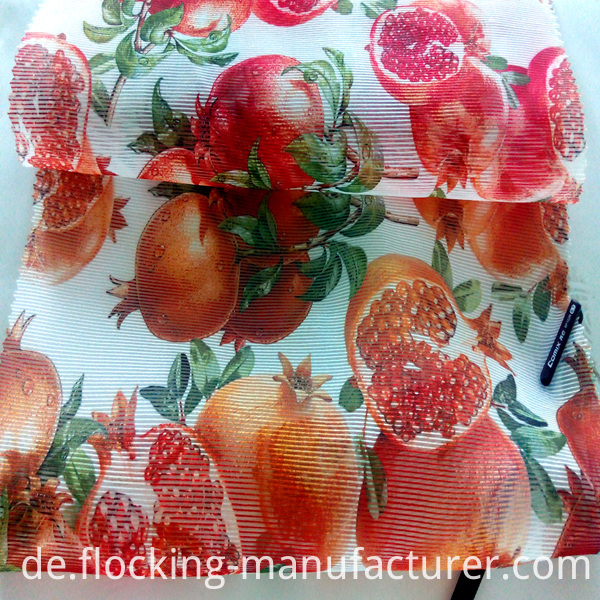 Fruit Design Polyester Printed Home Textile Garment Fabric