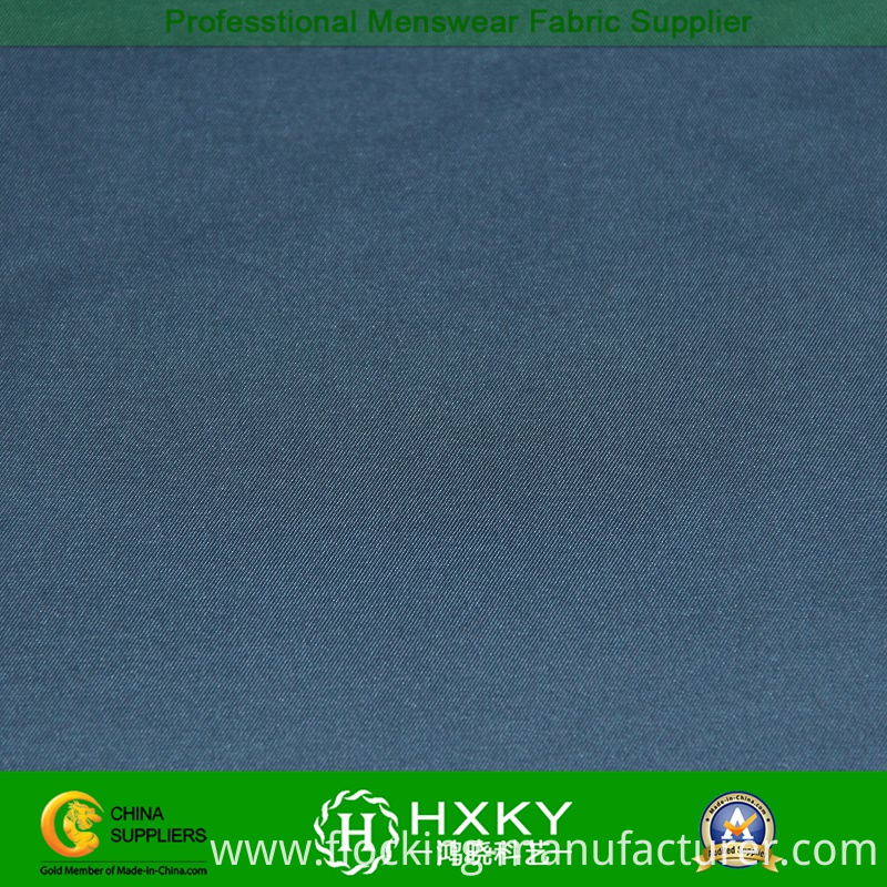 Memory Polyester Spandex Fabric with T400 Fiber for Men's Windbreaker