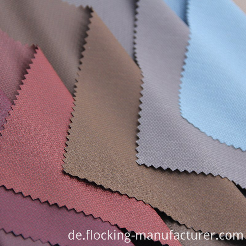 100% Nylon Floss Silk Fabric for Men's Garment
