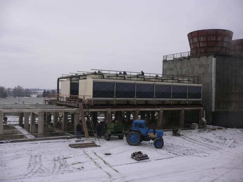 Cross Flow Rectangular Cooling Tower Jn-300