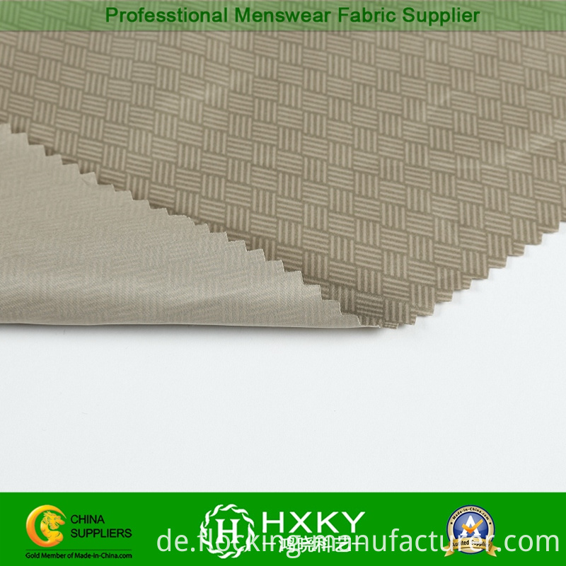 Printing of New Design Polyester Fabric for Men's Outerwear
