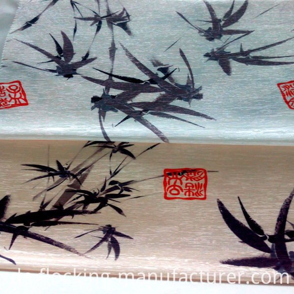 Bamboo Pattern Printed Arment / Home Textile Fabric
