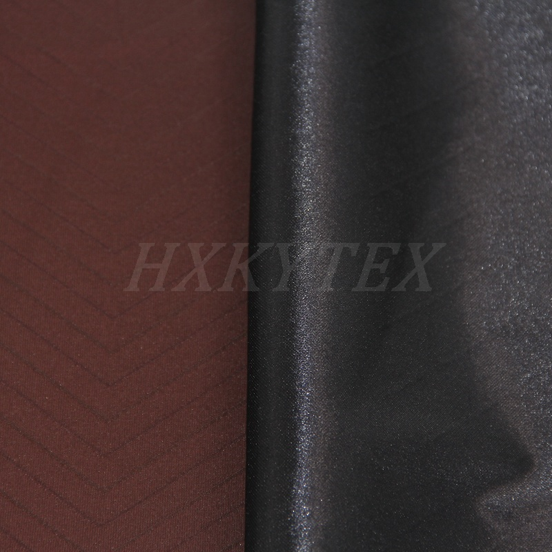 W Shape Jacquard with Compound Polyester Fabric for Jackets