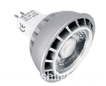 New AC/DC 12V Ce RoHS GU10 MR16 5W LED Lamp