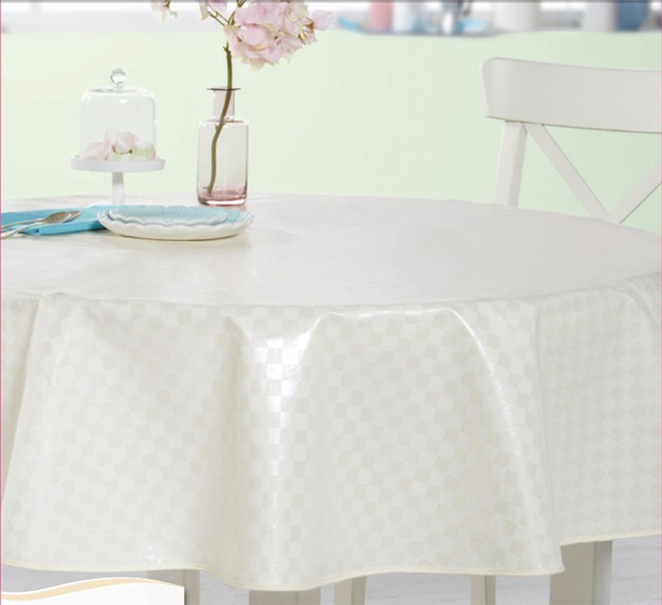 New Designed Friendly PVC Printed Pattern Tablecloth Fabric Backing