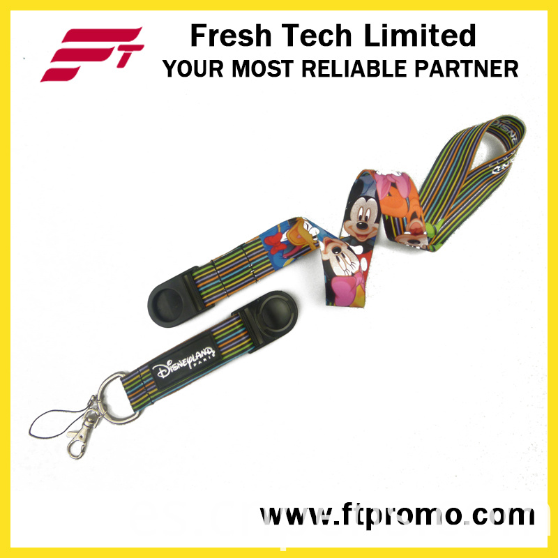 Promotion Gift Polyester Lanyard with Printed