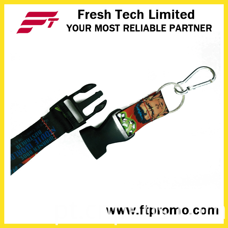 Customized Polyester Lanyard for Business Promotion